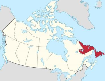 نیوفاندلند و لابرادور Newfoundland and Labrador
